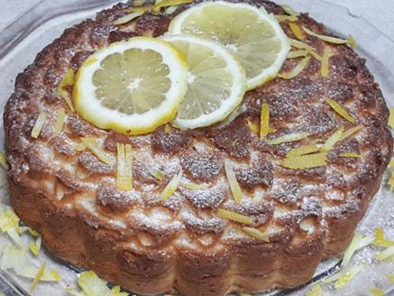 עוגת טורט לימון
