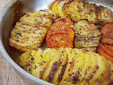מניפת תפוחי אדמה ובטטה