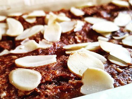 עוגת בננות וקוואקר טבעונית ללא גלוטן