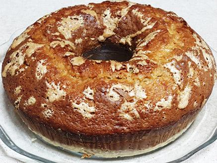 עוגת חלבה עם ג`ינג`ר