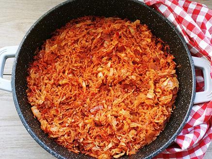 תבשיל כרוב ואורז כמו של פעם