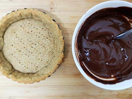טארט שוקולד דל פחמימה לסוכרתיים