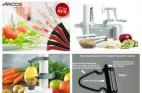 4 מוצרי חיתוך וקילוף ירקות למטבח