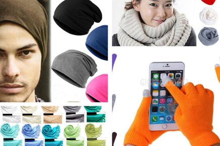 להתחמם בסופה: כפפות, צעיפים וכובע מחמם