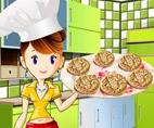 משחק אפייה: עוגיות חמאת בוטנים