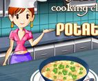 משחק בישול: מרק תפוחי אדמה