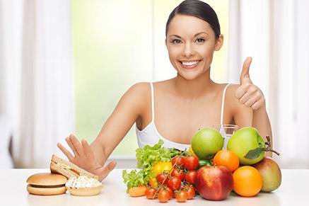 כמובן שההמלצה היא לאכול בריא בכל מקרה