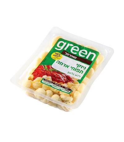 green - ניוקי תפוחי אדמה ללא גלוטן
