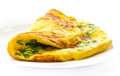 ביצה שלמה מבושלת-מטוגנת