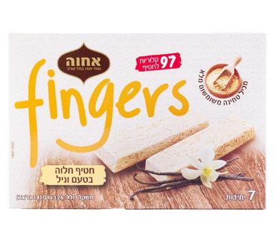 fingers - חטיף חלוה בטעם וניל