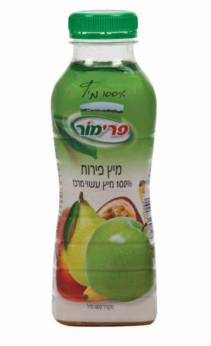 מיץ פירות - 100% מיץ עשוי מרכז