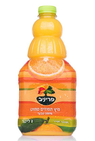 מיץ תפוזים 100% סחוט טבעי