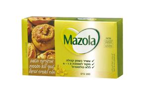 Mazola - מרגרינה בטעם טבעי ללא תוספת מלח לאפיה ובישול