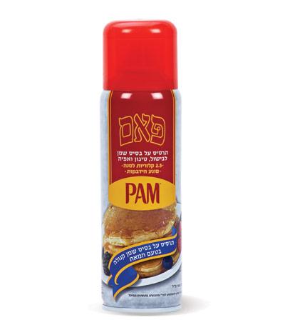 פאם - תרסיס שמן קנולה בטעם חמאה