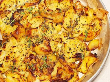 תפוח אדמה מעוך בתנור