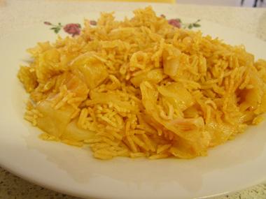 אורז עם כרוב