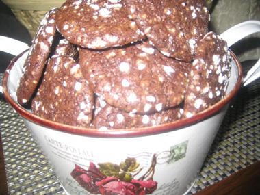 עוגיות שוקולד שבורות