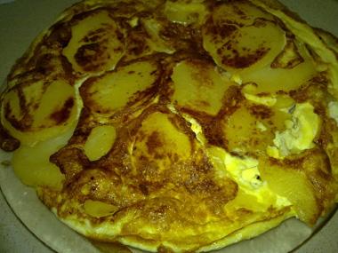 חביתה עם תפוחי אדמה
