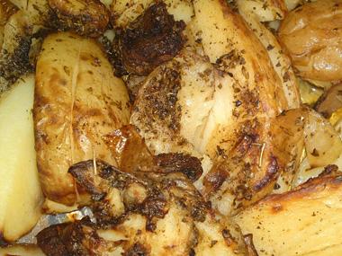 תפוחי אדמה צלויים