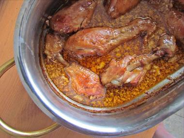 שוקי עוף בתנור