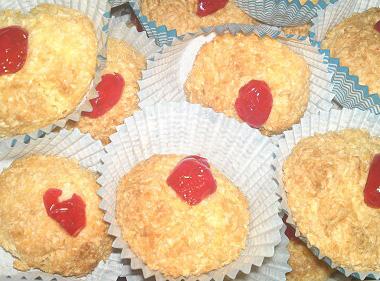 עוגיות קוקוס מחלמוני ביצים
