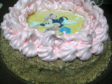 עוגת יום הולדת גבוהה