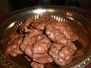 עוגיות שוקולדיות