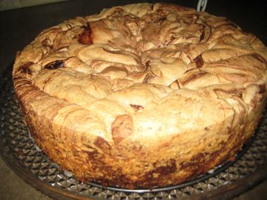 עוגת טורט מקושקשת