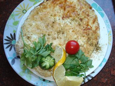 חביתה עם גבינה בולגרית