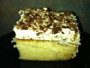 עוגה עם קצפת ללא גלוטן