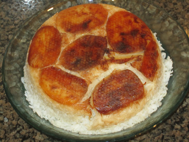 אורז עם תפוחי אדמה