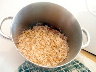 אורז משובץ