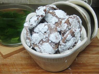 עוגיות שוקולד נימוחות