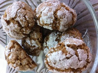 עוגיות שקדים ואגוזי מלך לפסח
