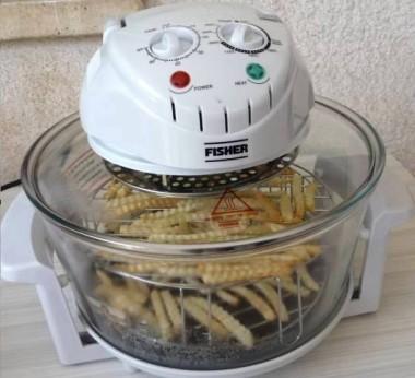 צ`יפס קנוי בתנור הטורבו שף