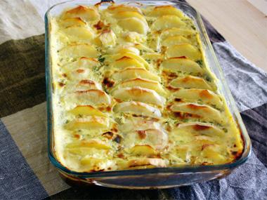 פשטידת גבינה עם ירקות ללא גלוטן