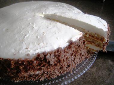 עוגת גבינה שכבות קצת אחרת