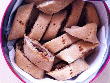 עוגיות אגוזים טבעוניות