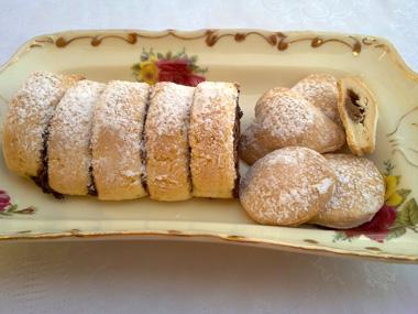 עוגיות ללא גלוטן במילוי שוקולד