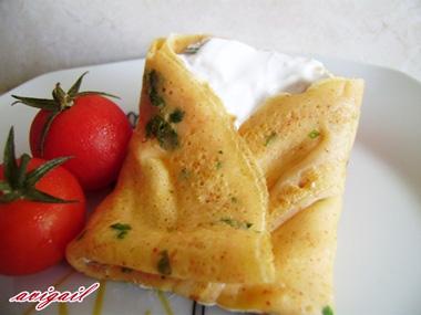 קרפ פיקנטי במילוי גבינות