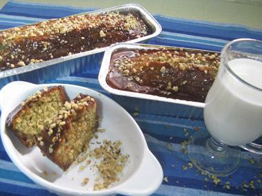 עוגת מייפל ואגוזים פרווה