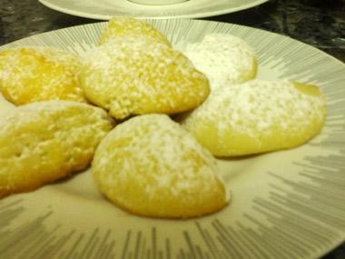 עוגיות חמאה גרוזיניות