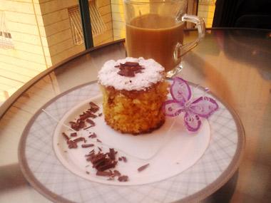 עוגת קוקוס, וניל ומייפל
