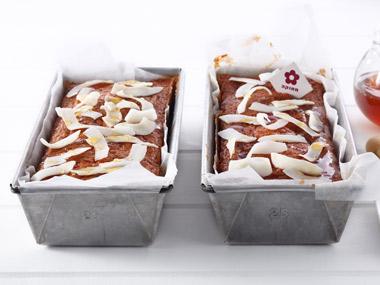 עוגת דבש, סולת וקוקוס