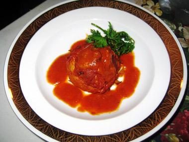 תחתיות ארטישוק במילוי בשר