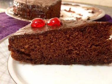 עוגת שוקולד מנצחת