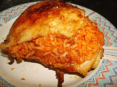 ירכי עוף במלית אורז