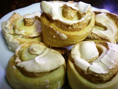 עוגיות שושנים בטעם וניל
