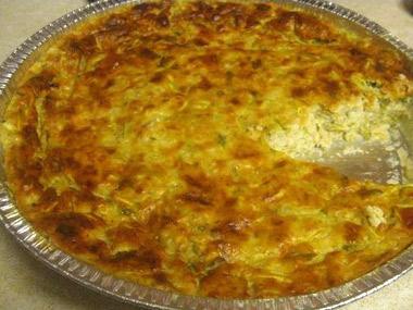 פשטידת קישואים עם גבינה