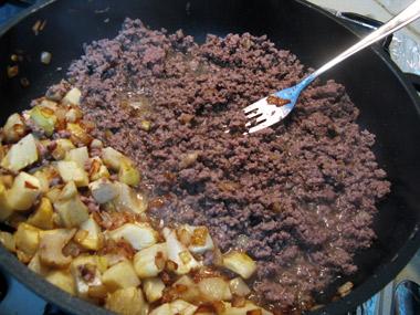 פתיתים עם בשר טחון ותחתיות ארטישוק